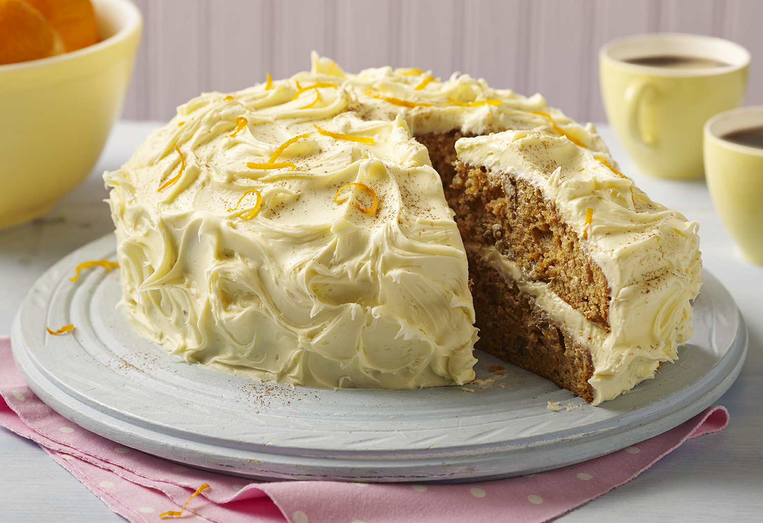 Betty Crocker Carrot Cake Sliced