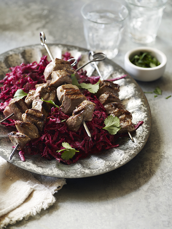 LambSteaksWithBeetroot