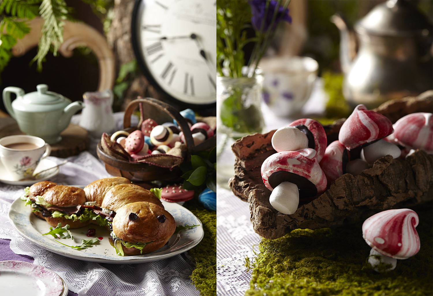 Alice in Wonderland themed Food and Drink Photography 2