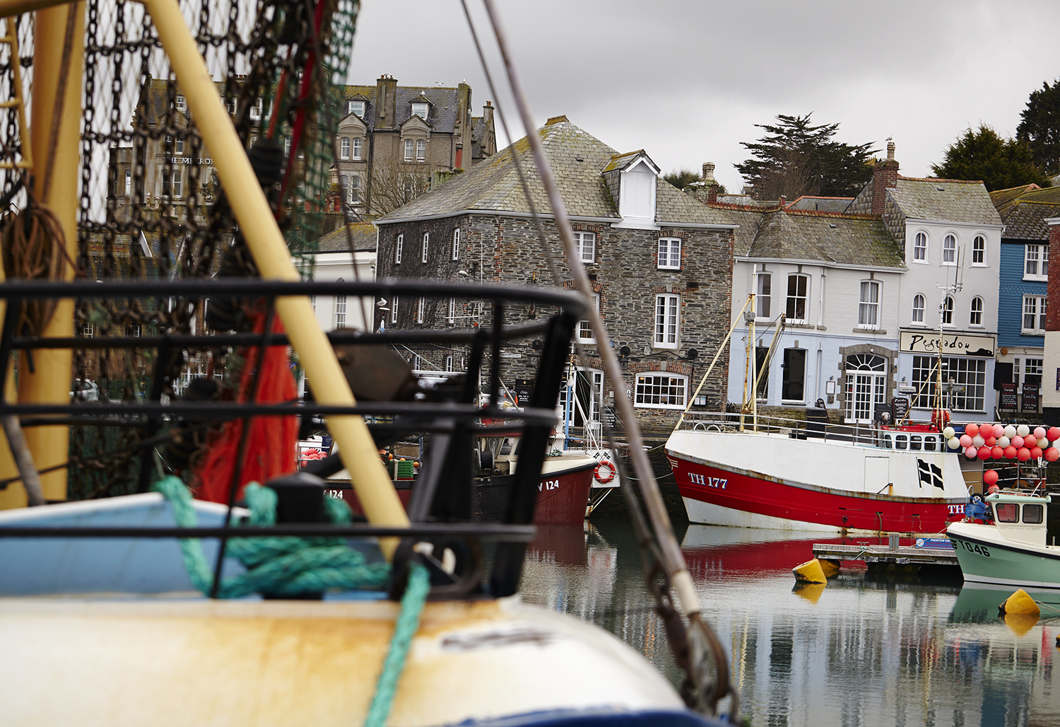 Rick Stein & The Seafood Restaurant 40th Anniversary feature in Delicious magazine - photography, Padstow