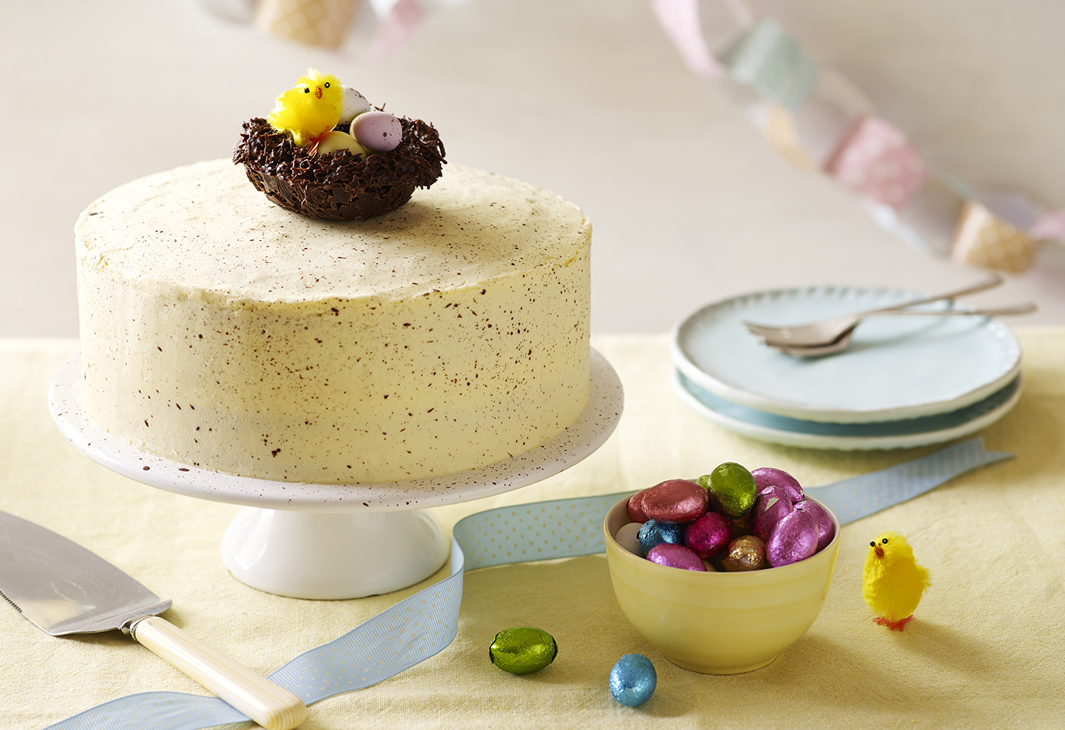 Cake Photography for the Betty Crocker Online Recipe Collection - Easter Cake