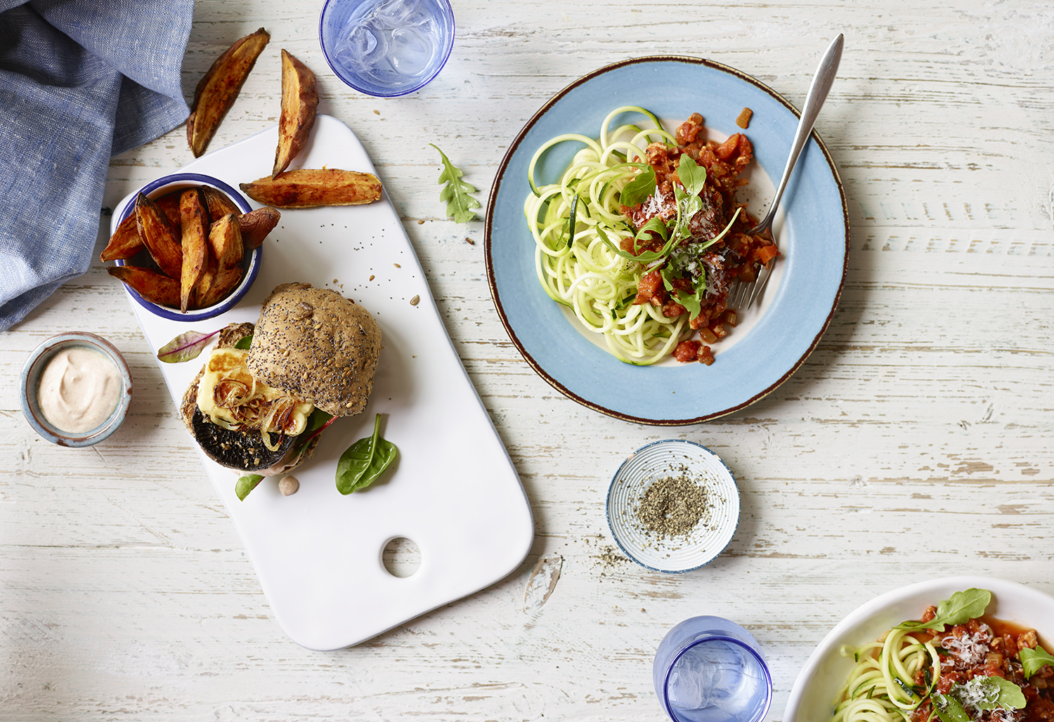Editorial Food Photography by Lauren Mclean - Eat Healthy- Issue One - Burger & Ragu