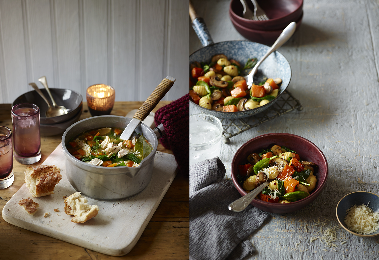 Editorial Food Photography by Lauren Mclean - Eat Healthy- Issue One - Chicken soup