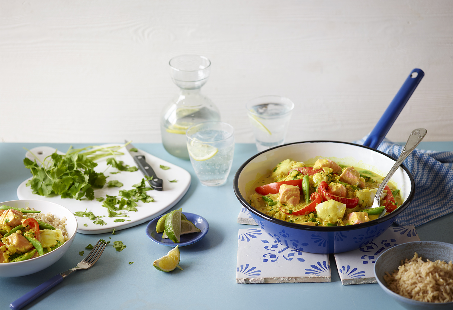 Editorial Food Photography by Lauren Mclean - Eat Healthy- Issue One - FishCurry