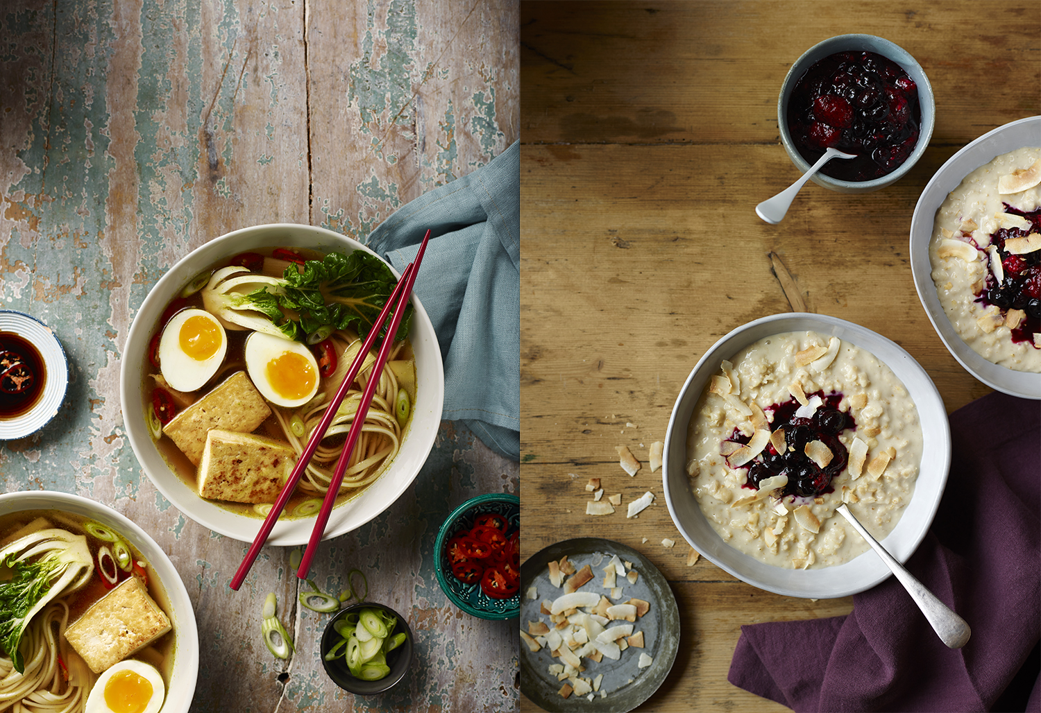 Editorial Food Photography by Lauren Mclean - Eat Healthy- Issue One - Ramen