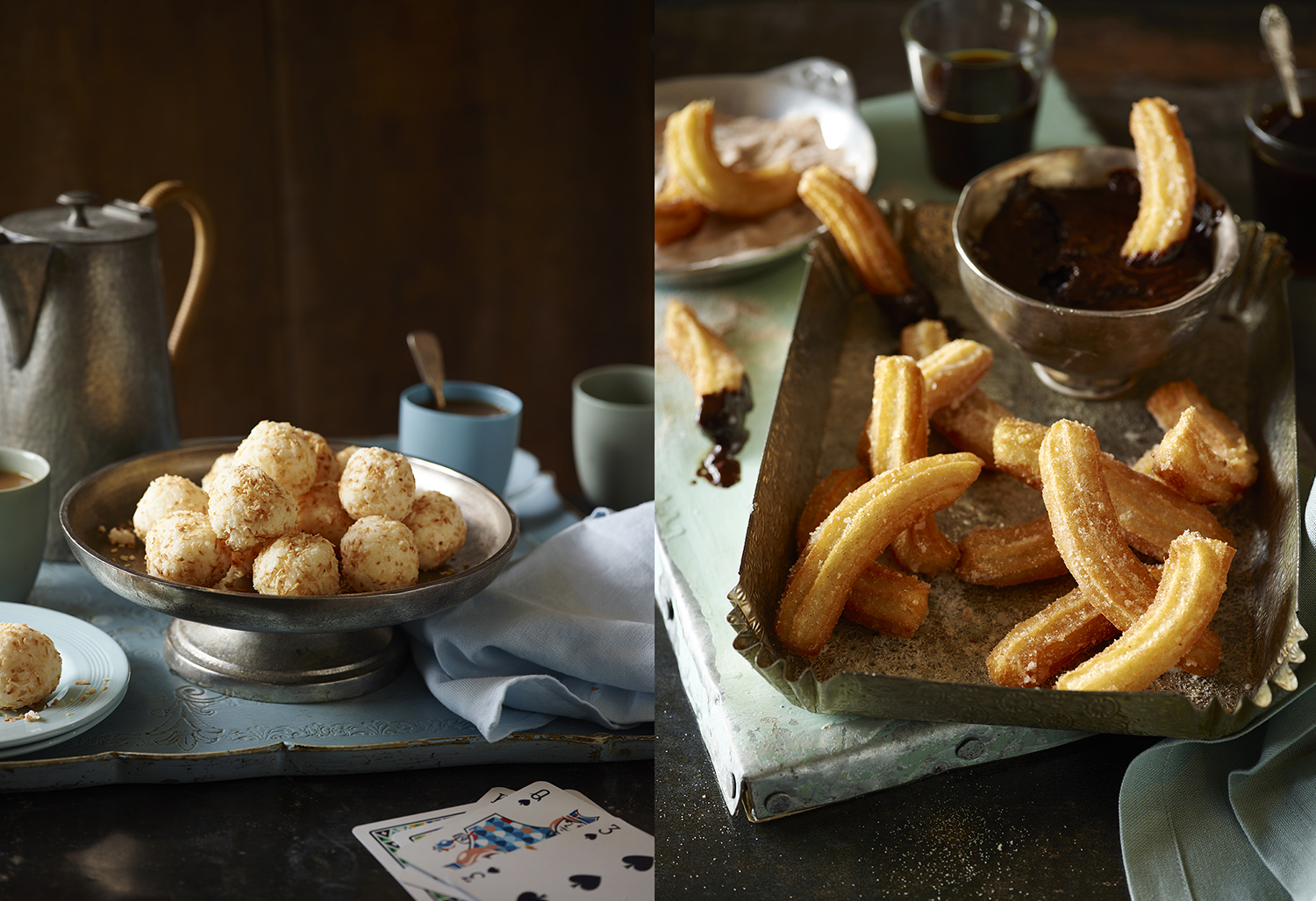 Sainsbury's Baking Book Coconut Bites Photo by Food Photographer Lauren Mclean