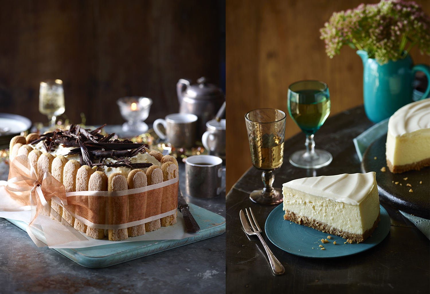 Sainsbury's Baking Book Tiramisu Photo by Food Photographer Lauren Mclean