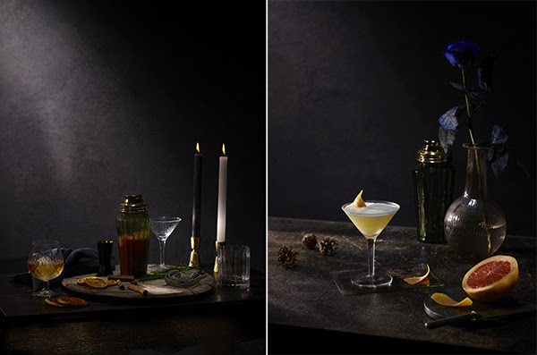 auren mclean drink photographer stylist example - cocktails